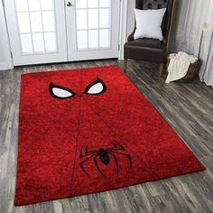 Dc And Marvel Superhero Spiderman Area Rug- Indoor, Outdoor, Living, Kitchet area carpet