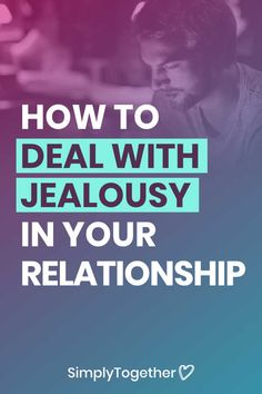 Tips to help couples overcome the negative effects of jealousy in their relationship. Deal with your or your boyfriend's insecurities. What Is Jealousy, Dealing With Jealousy, Jealousy In Relationships, Relationship Advice, Overcoming Jealousy, I Am Jealous, Negative Traits, Feeling Inadequate, Social Media Buttons