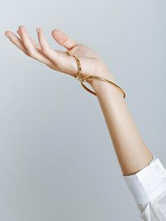 TheUNDONE.COM | Oval Palm Cuff by Holly Ryan