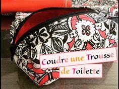Tuto 24 - Couture - Coudre trousse de toilette IMPERMEABLE - YouTube