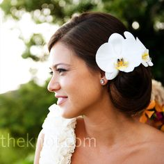White Orchid Hairstyle