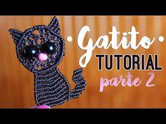Gatito (pt2) ♥︎ macrame tutorial   como hacer   how to - YouTube