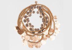 Collar de monedas de Uterqüe. #collares #complementos