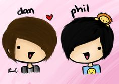 My favorite youtubers Dan Howell & Phil Lester