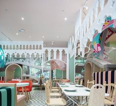 Neobio Kids Restaurant (Shanghai, China). Design:  X+Living