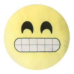 Innova Imports Emojee Heart Eyes Throw Pillow Finish: EMOJI PILLOWS -