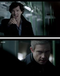 People say that Sherlock has change too much. Case and point here, he's still an asshole deep down.