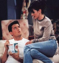 #Friends - #ChandlerBing #MonicaGeller