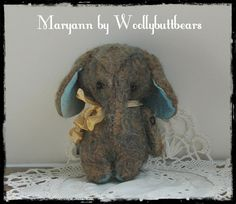 Maryann by Woollybuttbears 3 inches by Woollybuttbears on Etsy