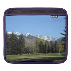 #Vail Golf Course iPad Sleeve #Continental Divide http://zazzle.com/rinchen365flower*