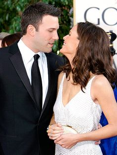 """Ben Affleck and Jennifer Garner's Ups & Downs in Their Own Words      """"She's the most beautiful woman out there."""" – Affleck, gushing about Garner to Access Hollywood at the 2013 Golden Globes"""