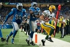Rodgers to Rodgers Hail Mary lifts Pack over Lions #sport