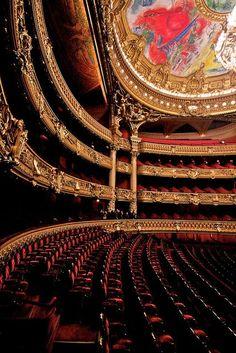 Le Palais Garnier in Paris