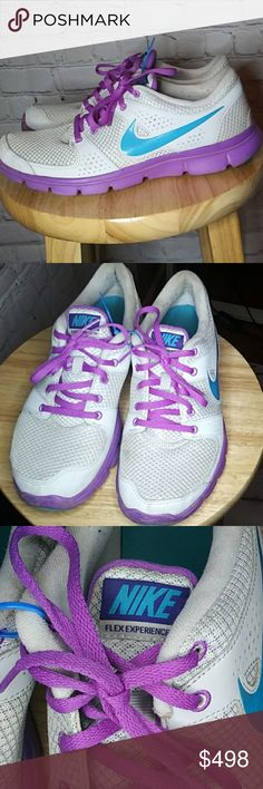 Have questions? Reasonable offers welcome. Thanks for shopping my closet! Purple Sneakers, Purple Nikes, Shoes Sneakers, Cute Nike Shoes, Nike Shoes Outfits, Plus Fashion, Fashion Tips, Fashion Design, Fashion Trends