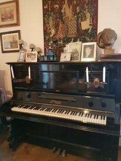 Vendesi pianoforte verticale Krauss Stuttgart anno 1880