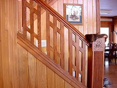 Wooden Stair Railing Wooden Staircase Railing, Indoor Stair Railing, Stair  Railing Design, Wooden