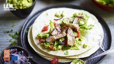 Wraps met lamsvlees en guacamole | VTM Koken