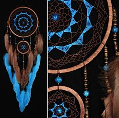 Brown Dreamcatcher turquoise Dream Catcher medium Dreamcatcher Dream сatcher idea dreamcatcher boho dreamcatchers wall handmade gift
