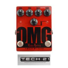 Tech 21 Richie Kotzen Signature OMG Drive