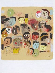 Faces Again by ScottBergey on Etsy