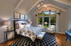 Antonio Owner's Suite in Whitley Place Knolls, Drees Custom Homes, interior design