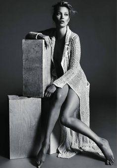 Kate Moss - Vogue Paris by Mert & Marcus
