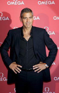 George Clooney, looking all good