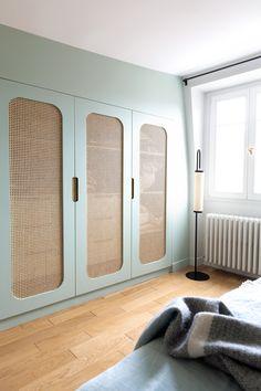 Wardrobe Door Designs, Wardrobe Doors, Closet Designs, Home Room Design, House Design, Home Bedroom, Bedroom Decor, Bedrooms, Ideas Armario