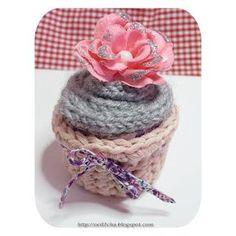 Cupcake au Tricotin