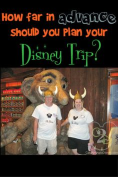 I am often asked when to book Walt Disney World trip. You can usually book your trip about a year in advance and there are several reasons booking this early is helpful!  When do you usually book?