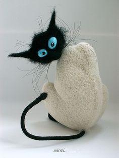 Young animals and handmade.  Fair Masters - handmade Cat (series of signs koshkosti).  Handmade.