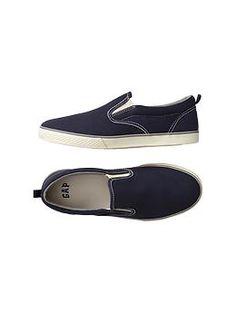 Sunwashed slip-on sneakers | Gap