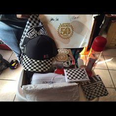 36ff3c1645 Original Damn Daniel Vans Signature package White original vans  w signatures size 5.5 men 7.5