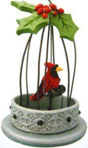 Christmas Cardinal Ornament   AllFreeChristmasCrafts.com