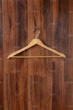 Empty Wooden Hanger by Steve Cukrov Photography on @creativemarket