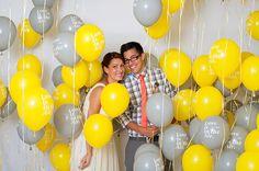 J'aime bien l'idée des ballons a l'helium pour jouer a cache cache sur le photobooth
