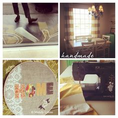 I love the HOME embroidery hoop.