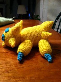 Heart in Flight Crochet: Joltik Crochet Pattern Pokemon Crochet Pattern, Amigurumi Patterns, Crochet Patterns, Hat Patterns, Diy Crochet, Crochet Toys, Pokemon Birthday, Mistakes, Dinosaur Stuffed Animal