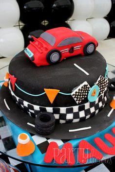 Super cool #racecar #birthday #cake!