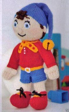 Resultado de imagen para knitting patterns for toys Knitted Doll Patterns, Knitted Dolls, Knitting Patterns Free, Free Knitting, Baby Knitting, Knitting Toys, Knitted Bags, Knit Or Crochet, Crochet Toys