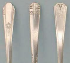Art Deco silverware