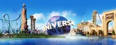 Universal Studios...never been and gotta go