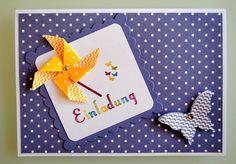 Heike Heesen - Grußkarten & Mehr - Beispiele, Einladung Kindergeburtstag