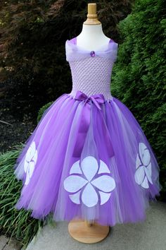 Sofia the First / Princess Sofia Dress by My by MyPreciousTutu, $75.00