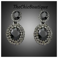 Pair with any of our black necklaces for a complete look!  Fast and free shipping! | Shop this product here: http://spreesy.com/TheChicBoutique/20 | Shop all of our products at http://spreesy.com/TheChicBoutique    | Pinterest selling powered by Spreesy.com