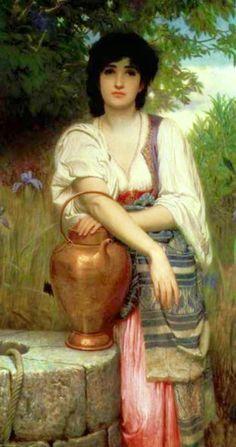 Charles Edward Perugini ~ Victorian Era painter | Tutt'Art@ | Pittura • Scultura • Poesia • Musica