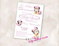 5X7 Baby shower invite Invitation Instant Download by Mazoria
