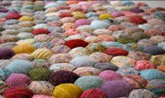 Knit hexies
