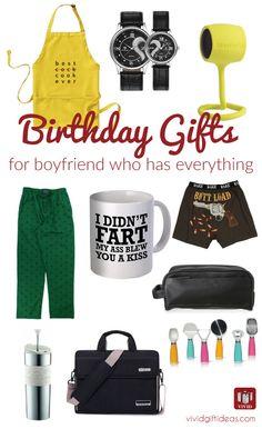 12 Best Birthday Gift Ideas For Boyfriend Who Has Everything