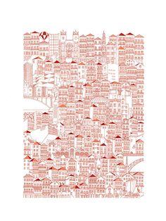 These Intricate Illustrations Portray the Details of Fantastical Cities,© Marta Vilarinho de Freitas
